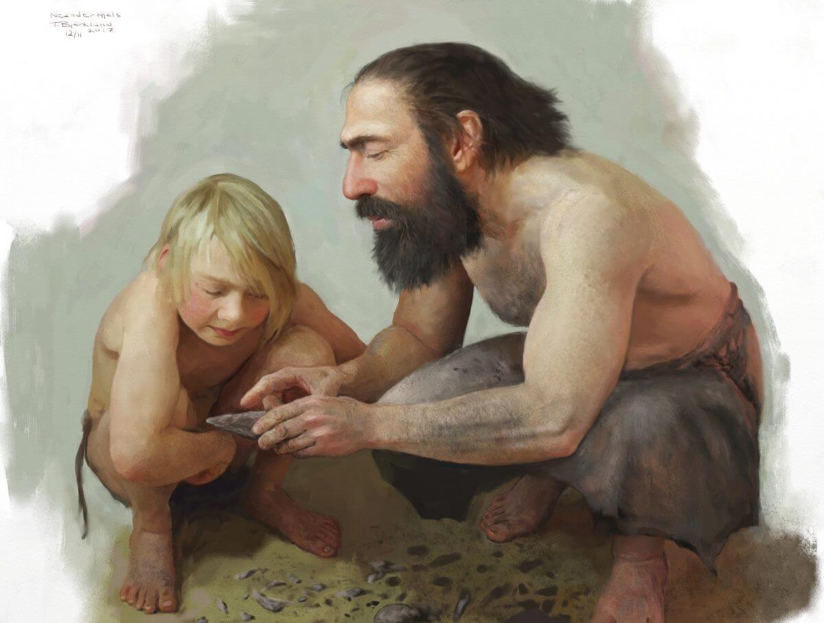 Life in the Ice Age || Tom Bjorklund's Art