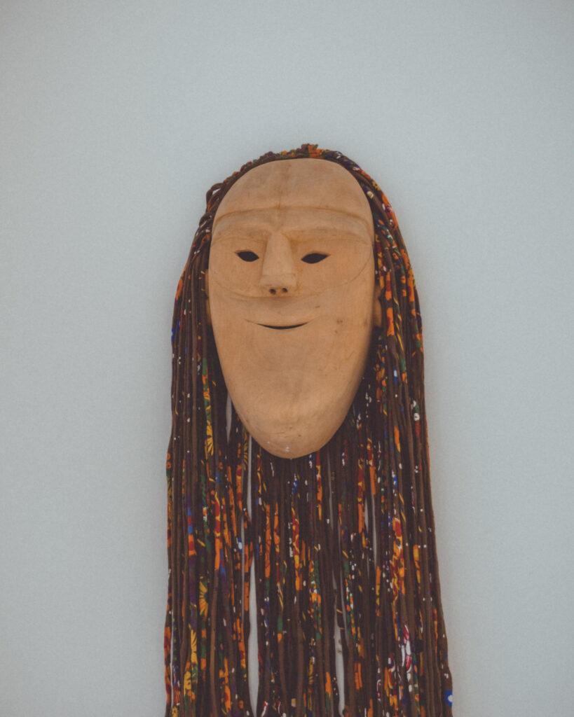 Máscara de careto em Lazarim