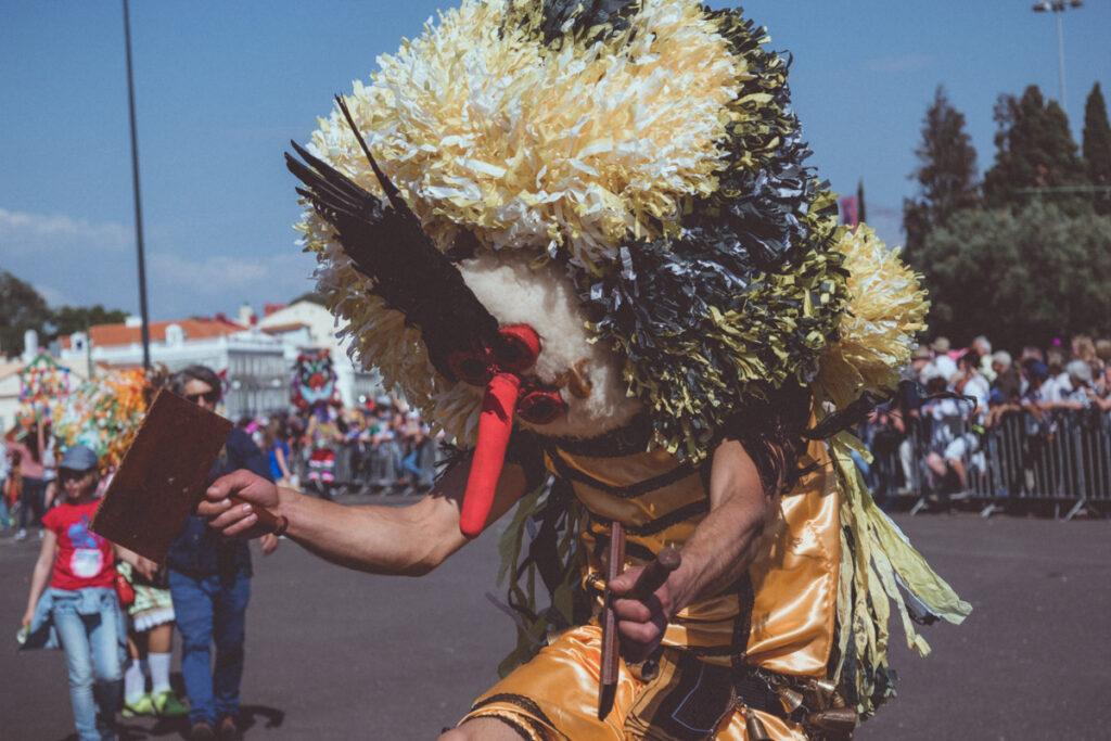 Cardadores de Ílhavo no Festival da Máscara Ibérica