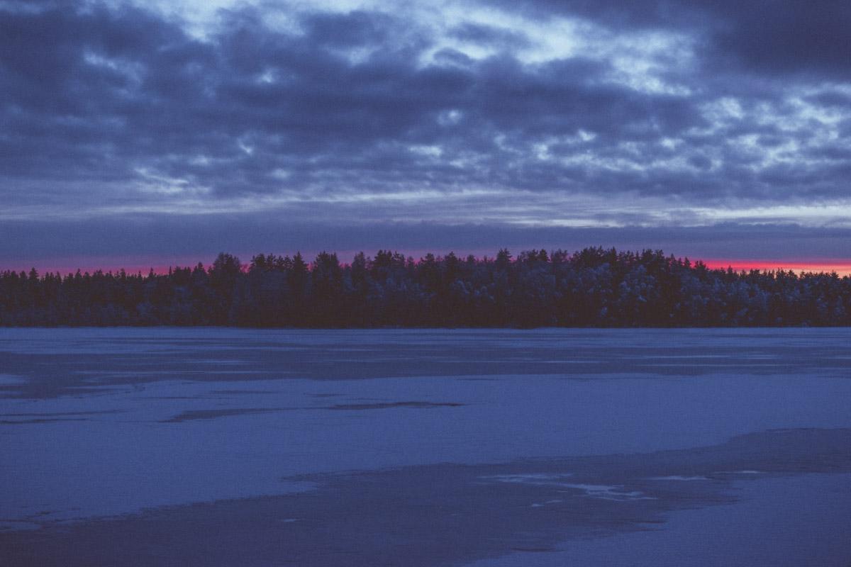 Sunset in Kierikki, Yli-Ii