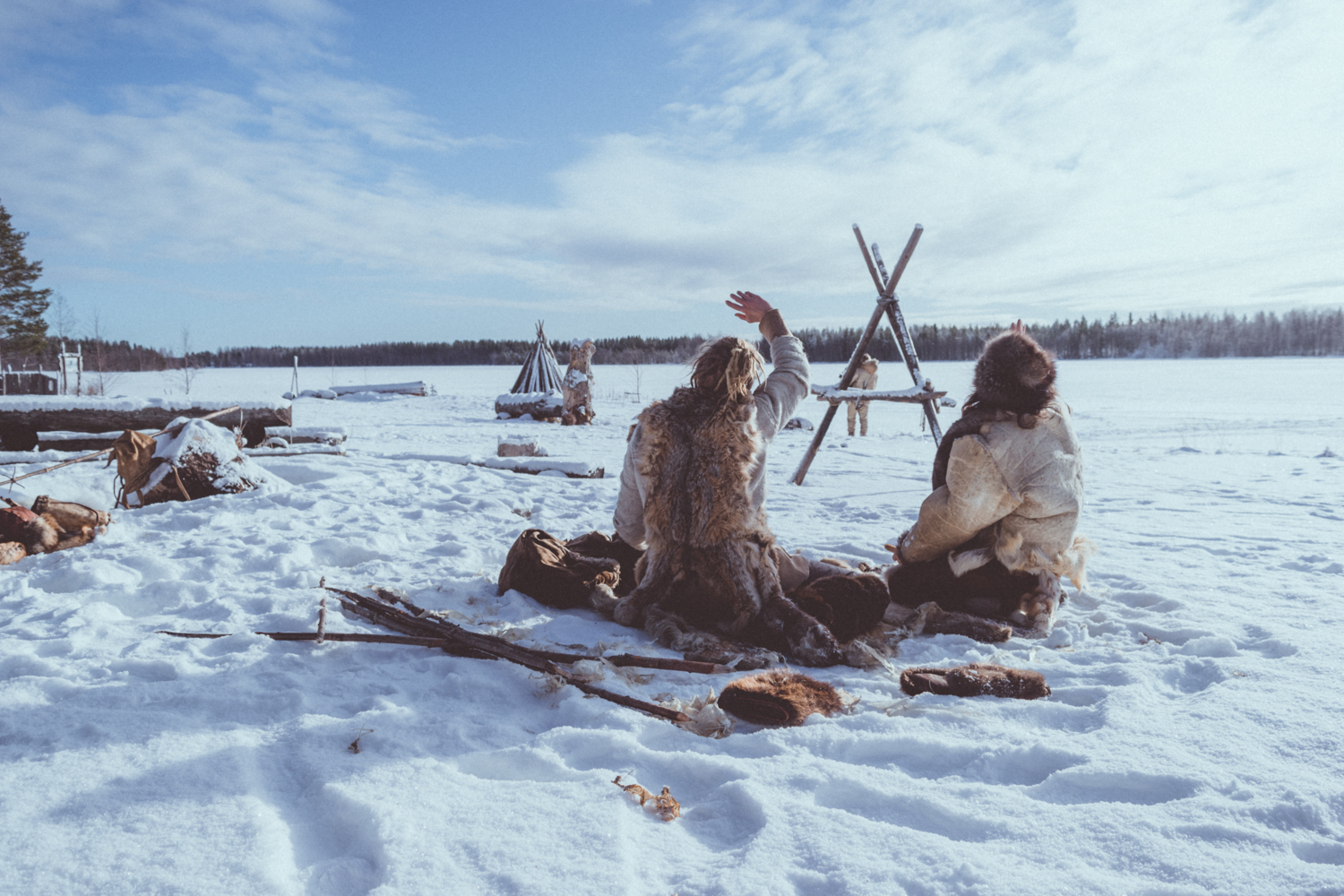 Stone Age Winter Week | Photo Compilation
